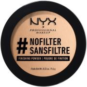 NYX PROFESSIONAL MAKEUP Nofilter Finishing Powder Honey Beige