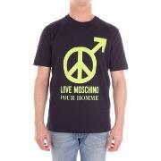 T-shirts med korta ärmar Love Moschino  M47321NM3876