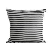 House Doctor kuddfodral stripes black-grey