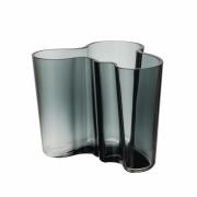Alvar Aalto vas mörkgrå 120 mm