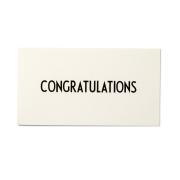 AJ Vintage ABC kort Congratulations