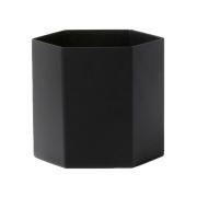 Hexagon kruka svart large