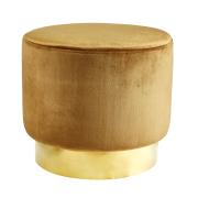 Jakobsdals sittpuff golden brown (brun)