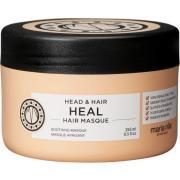 Köp Head & Hair Heal,  250ml Maria Nila Hårinpackning fraktfritt