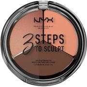 NYX PROFESSIONAL Makeup 3 Steps To Sculpt Deep