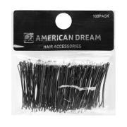 American Dream Straight Grips Black 5cm