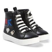 Michael Kors Ivy Rakest Sneakers Svart 23 (UK 6)