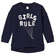 Gap Girls Rule Balloon Tröja Marinblå XS (4-5 år)