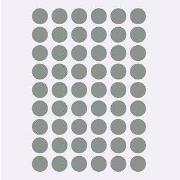 ferm LIVING Mini Dots Väggklistermärken Grå One Size