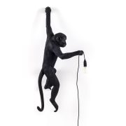 Monkey Lamp Outdoor Hanging Vänster Version, Svart